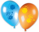PROCOS - 8 latex Minions balloon party ballonnen - Decoratie > Ballonnen