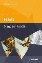 Boek cover Prisma pocketwoordenboek Frans-Nederlands van A.M. Maas (Paperback)