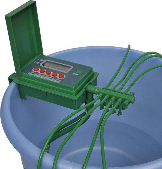 vidaXL Irrigatiesysteem automatisch met timer voor watersproeier