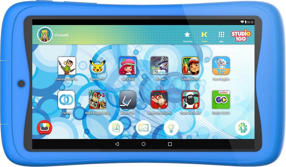Kurio Tab Connect Studio 100 kindertablet – 16GB – Blauw