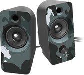 Speedlink Daroc Stereo Speaker - Blauw Camouflage