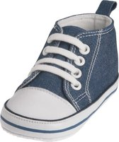 Playshoes sneaker jeans blauw Maat: 18