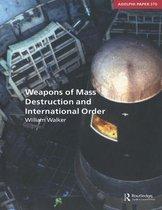 Omslag Weapons of Mass Destruction and International Order