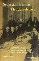 Boek cover Het duivelspact van Sebastian Haffner (Hardcover)