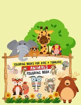 Coloring Books for Kids & Toddlers Animals Coloring Book