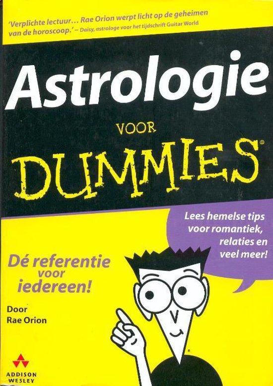 Astrologie voor Dummies - R. Orion | Fthsonline.com