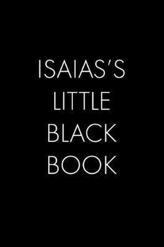 Isaias's Little Black Book