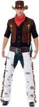 Bruin cowboy western kostuum voor heren - verkleedkleding 48-50 (M)