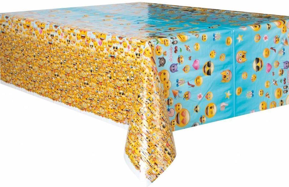 Emoji Tafelkleed 213x137cm - Partywinkel