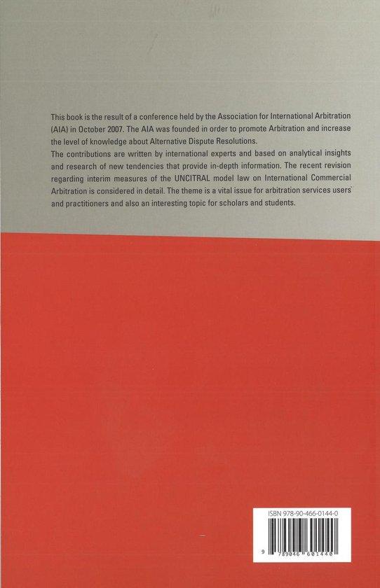 Interim Measures in International Commercial Arbitration