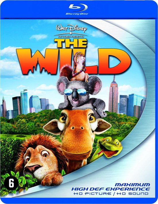 Cover van de film 'The Wild'