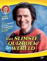 Boek cover Het slimste quizboek ter wereld 2016 van Marc van Springen