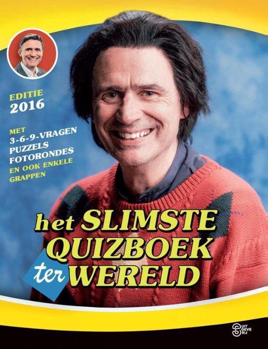 Het slimste quizboek ter wereld 2016 - Marc van Springen  