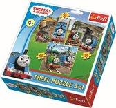 3 in 1 -  Thomas de Trein Puzzel