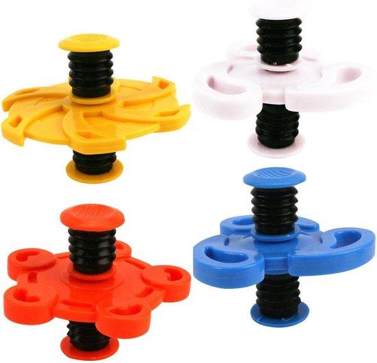 Afbeelding van het spel 2 stuks assorti kleuren Fidget Jumping Flip Spinner - Bouncing Spinner.....(Nieuwe Trend)