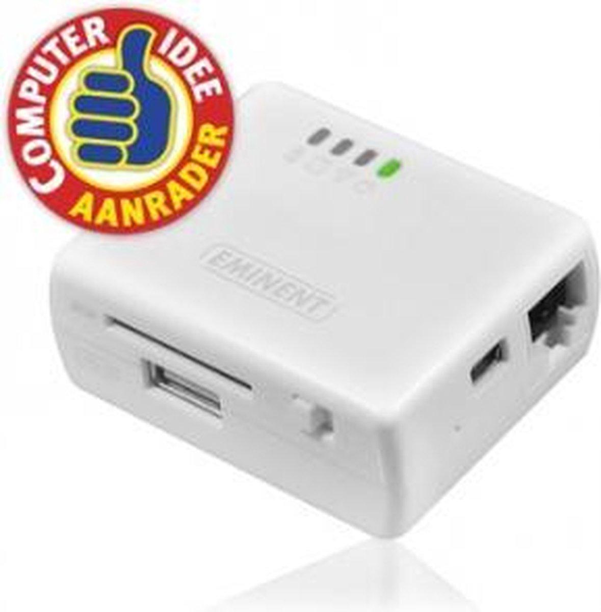 Eminent EM4610 WiFi Travel Reader - Wit