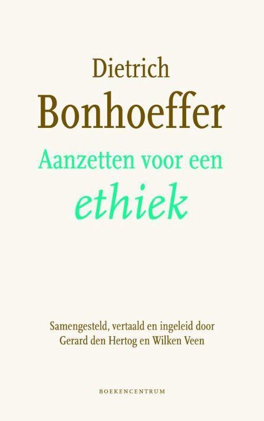 Cover van het boek 'Aanzetten voor een ethiek'
