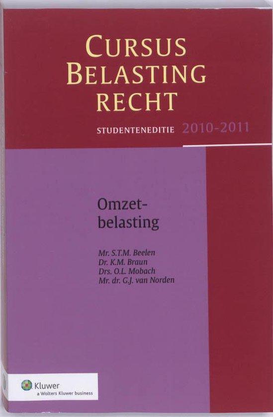 Omzetbelasting/ 2010-2011 / deel Studenteneditie - none |