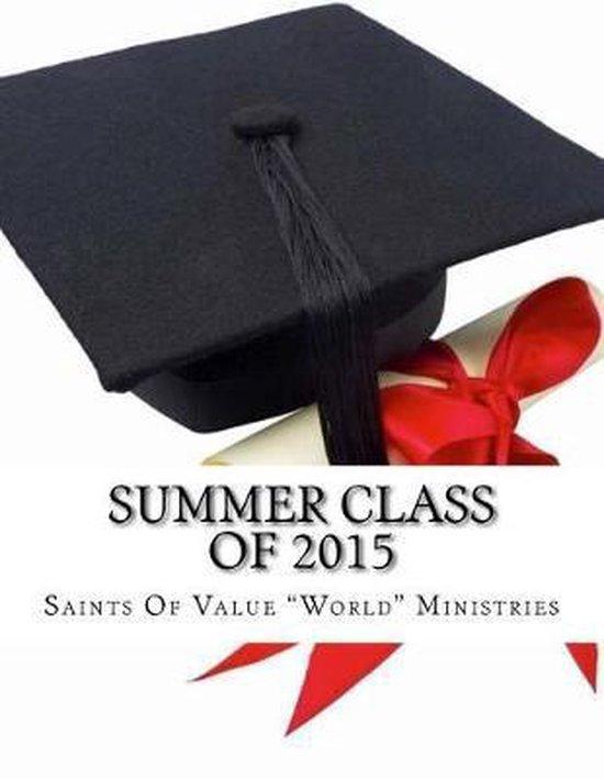 Summer Class of 2015