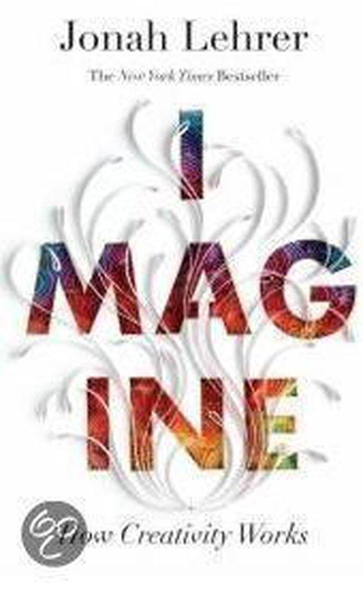 Boek cover Imagine: How Creativity Works van Jonah Lehrer (Paperback)