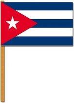 Luxe zwaaivlag Cuba