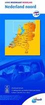 ANWB wegenkaart - Nederland noord 1:200000