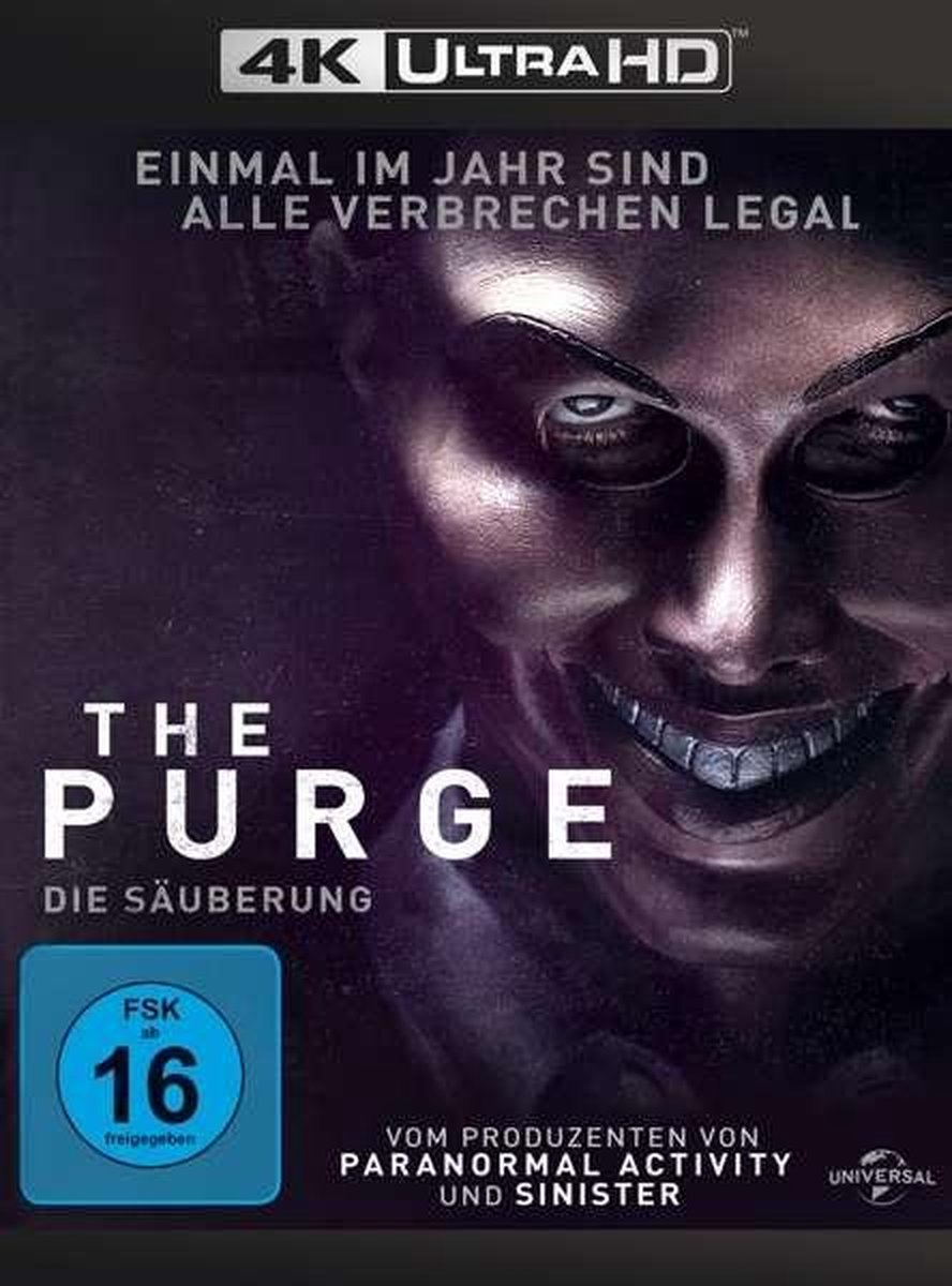 The Purge (Ultra HD Blu-ray & Blu-ray)-