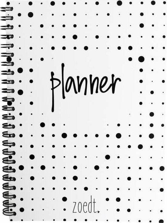 Afbeelding van Zoedt planner grote en kleine dots