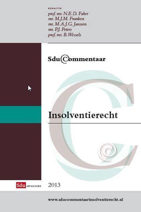 Sducommentaar - Sdu commentaar insolventierecht - none |