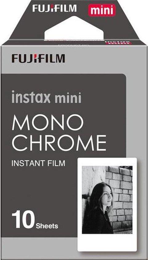 Fujifilm Instax Mini Film - Mono Chrome - 10 stuks