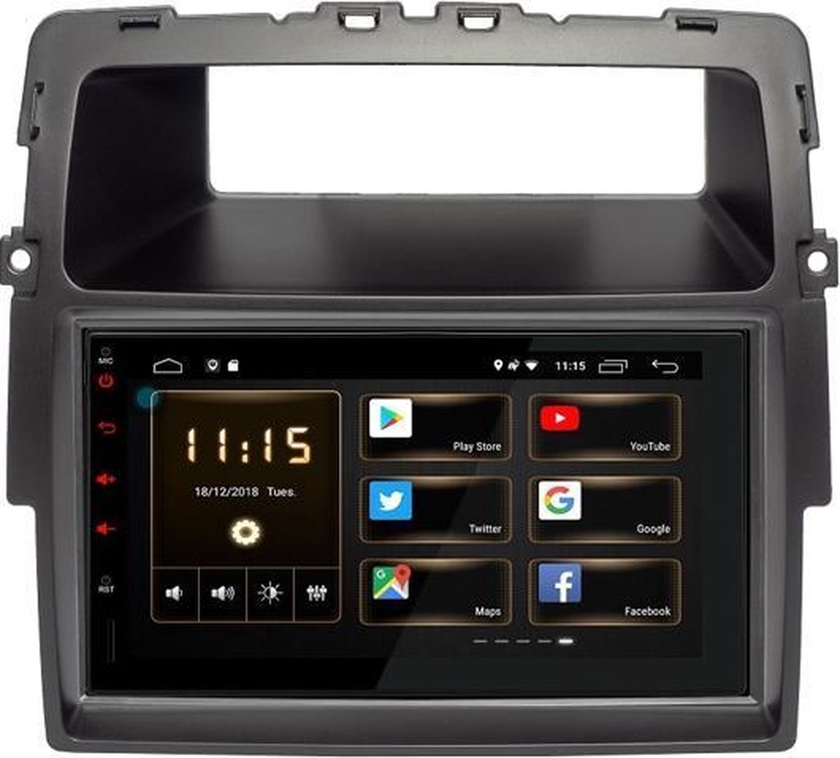OPEL Vivaro (X83) Android 8.1 navigatie - 7'' touchscreen autoradio