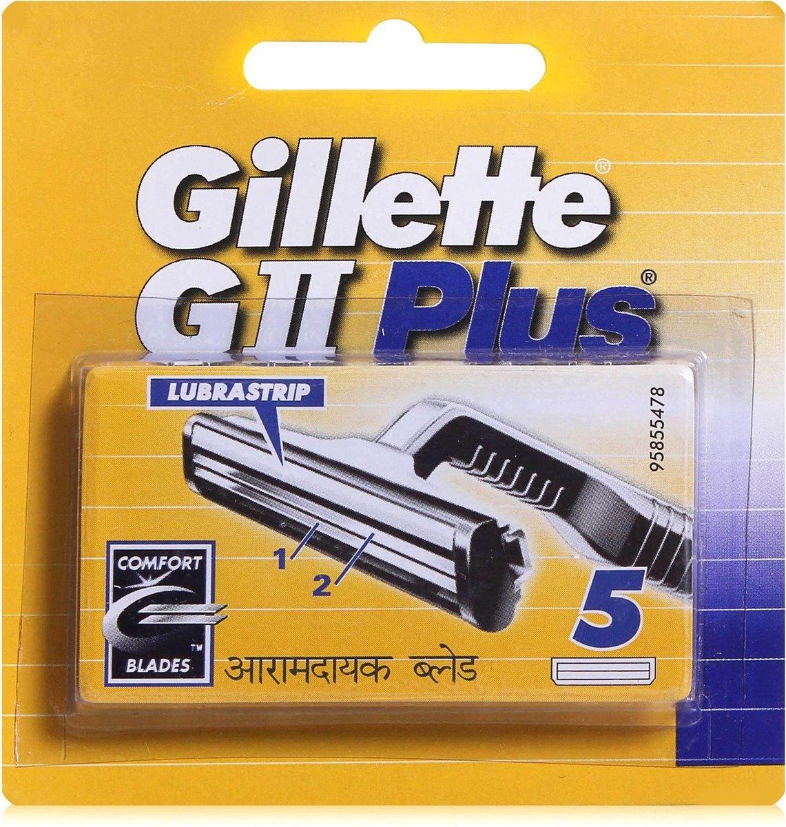 Gillette G2 Plus scheermesjes 5st - Gillette
