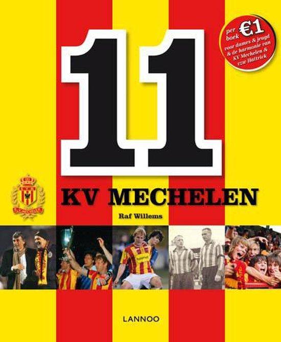 Cover van het boek '11 kv mechelen' van Raf Willems