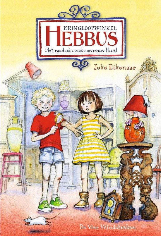 Hebbus - Het raadsel rond mevrouw Parel - Joke Eikenaar |