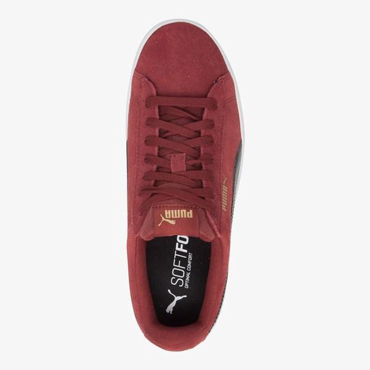| Puma Vikky Stacked dames sneakers Rood Maat 39