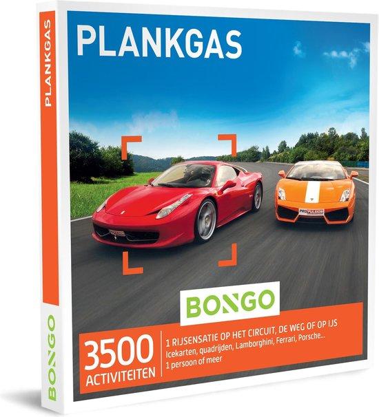Bongo Bon Nederland - Plankgas Cadeaubon - Cadeaukaart cadeau voor man | 3500 spannende rij-ervaringen: op het circuit, offroad, op het ijs en meer
