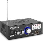 Versterker - Fenton AV360BT compacte versterker 2x 40W met Bluetooth, mp3 speler, lijningang en afstandsbediening