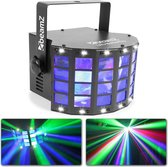BeamZ LED butterfly met LED stroboscoop 2-in-1 lichteffect