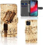 Telefoonhoesje met foto iPhone 11 Pro Max Bladmuziek