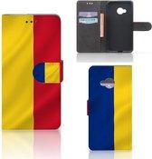 Bookcase hoesje HTC U Play Roemenië