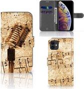 Telefoonhoesje met foto iPhone 11 Bladmuziek