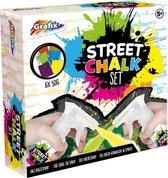 Grafix Krijtspray Street Chalk 9-delig