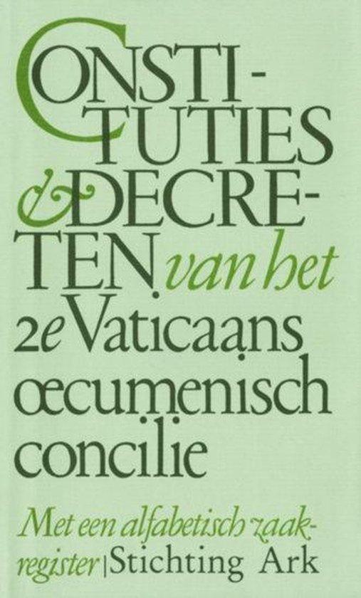Constituties decr. 2e vaticaans oecum.concilie