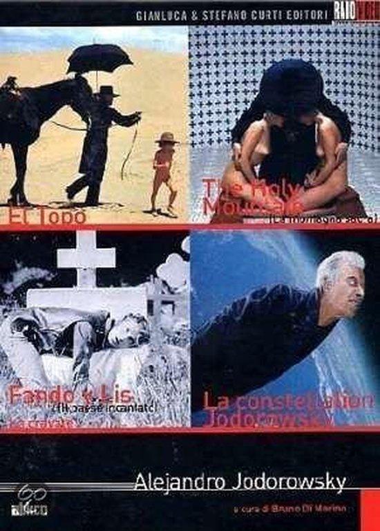 Cover van de film 'Alejandro Jodorowsky Box'