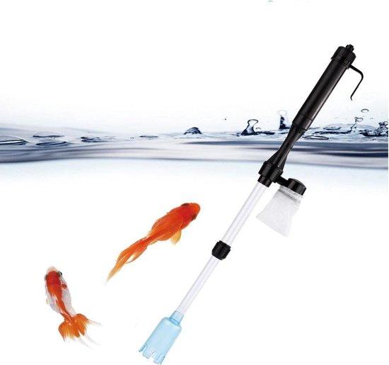 ProAqua - Aquarium Stofzuiger Elektrisch op Batterijen - Stofzuiger voor uw Aquarium met Filter - Reinig uw Aquarium - Schoonmaken - Verstelbaar