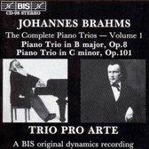 Brahms - Piano Trios I
