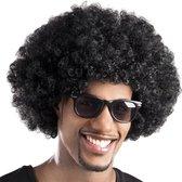 Pruik Afro - Zwart