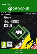 FIFA 20: Ultimate Team - 12.000 Fifa Points - In-Game Tegoed - Xbox One