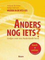 Boek cover Anders nog iets? NT2 liedjes van Jonas de Vries (Paperback)