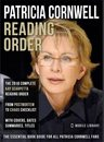 Omslag Patricia Cornwell Reading Order